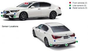 Honda meluncurkan sistem keamanan Honda SENSING Elite dengan pengendaraan otomatis Level 3 di Legend Hybrid di Jepang